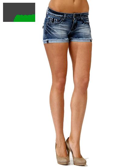 шортики джинсовые женские фото